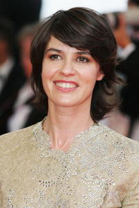 Irene Jacob at the Palais des Festivals during the 60th International Cannes Film Festival, at a premiere promoting