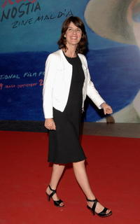 Irene Jacob at the 55th San Sebastian International Film Festival, attend the premiere of