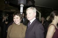 Derek Jacobi and guest at the Sydney premiere of