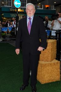 Derek Jacobi at the UK premiere of