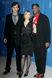 Rossif Sutherland and Danny Glover at the photocall of