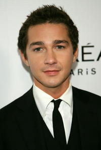 Shia LaBeouf at the Weinstein Company's 2007 Golden Globes after party in Beverly Hills
