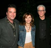 Daniel Baldwin, Mary Steenburgen and Ted Danson at the premiere of