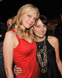Riki Lindhome and Marianne Maddalena at the after party of the premiere of