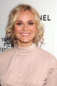 Diane Kruger at the Chanel dinner at the 2007 Tribeca Film Festival.