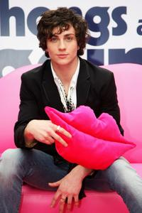 Aaron Johnson at the UK premiere of