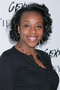 Marianne Jean-Baptiste at the launch of Frank Gehry's premiere jewelry collection.