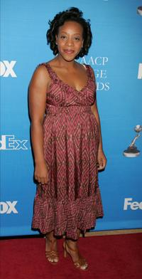Marianne Jean-Baptiste at the 37th NAACP Image Awards Nominee Luncheon.