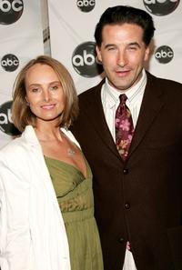 William Baldwin and his wife Chynna Phillips at the ABC Upfront presentation at Lincoln Center.