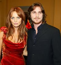 Izabella Scorupco and Christian Bale at the premiere of