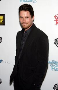 Christian Bale at the Warner Bros. Pictures presentation of