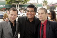 Thomas Lennon, George Lopez and Ben Garant at the premiere of