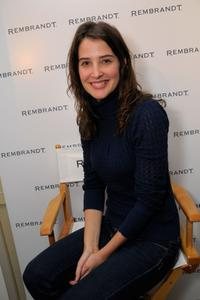 Cobie Smulders at the Luxury Lounge in honor of 2008 SAG Awards.