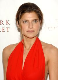 Lake Bell at the New York City Ballet opening night gala.