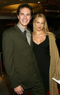 James D'Arcy and Lucy Punch at the special screening of
