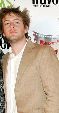 Eric Laster and Fran Kranz at the world premiere of