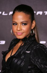 Christina Milian at the launch party for Sony Computer Entertainment America Playstation 3.