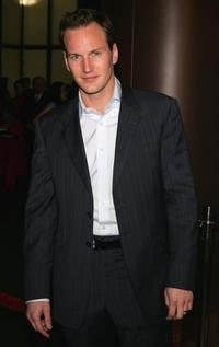 Patrick Wilson at the premiere of