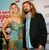 Sheri Moon Zombie and Rob Zombie at the screening of