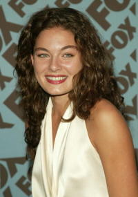 Alexa Davalos at the Fox upfront at the Central Park Boathouse in N.Y.