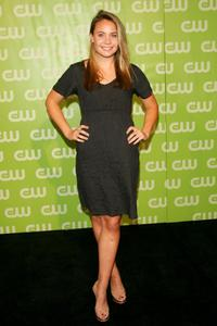 Leah Pipes at the CW Network Upfront.