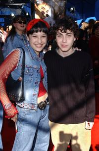 Lalaine and Adam Lamberg at the premiere of