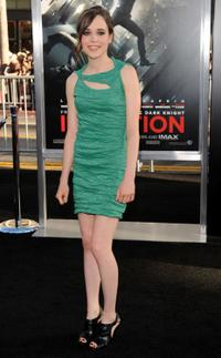 Ellen Page at the California premiere of