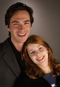 James D'Arcy and Rachel Hurd-Wood at the AFI Fest 2005.