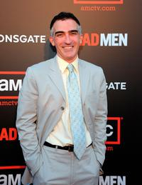 Melinda McGraw and Patrick Fischler at the premiere of