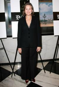Cherry Jones at the premiere of