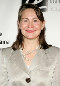 Cherry Jones at the 71st Annual Drama League Awards Luncheon.
