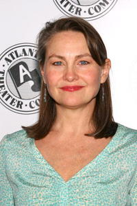 Cherry Jones at the Atlantic Theater Company's Spring Gala.