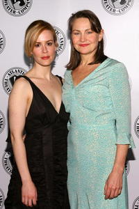 Cherry Jones and Sarah Paulson at the Atlantic Theater Company's Spring Gala.