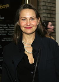 Cherry Jones at the New York opening of