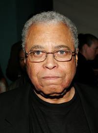 James Earl Jones at the New York opening night of