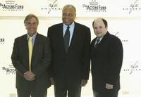 James Earl Jones, Henry Winkler and Jason Alexander at the 2004 Actors Fund And Variety Tony Awards Party.