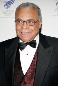 James Earl Jones at the American Theater Wing Annual Dinner honoring CBS Television and it's chairman Leslie Moonves.