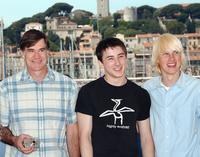 Gus Van Sant, Alex Frost and John Robinson at the photocall of