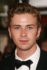 Elias McConnell at the premiere of