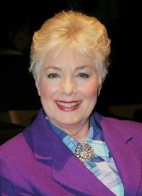Shirley Jones and Marty Ingalls at The Women In Film and Hallmark Channel Reception honoring Dr. Maya Angelou.