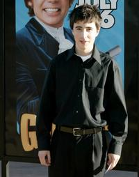Josh Zuckerman at the premiere of