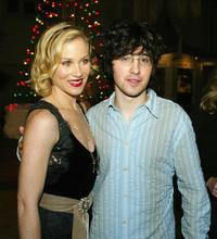 Christina Applegate and Josh Zuckerman at the premiere of