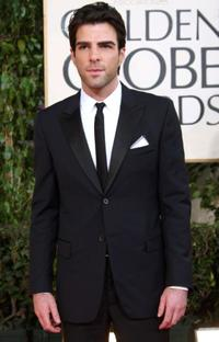 Zachary Quinto at the 66th Annual Golden Globe Awards.