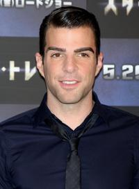 Zachary Quinto at the press conference of