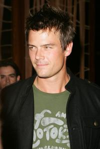 Josh Duhamel at the Will.i.am record release party.