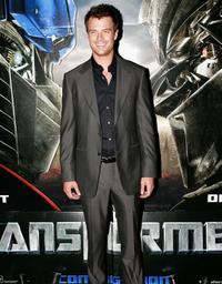 Josh Duhamel at the screening of