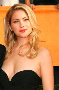 Laura Ramsey at the 13th Annual Screen Actors Guild Awards.