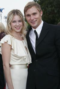 Laura Ramsey and Brian Geraghty at the world premiere of