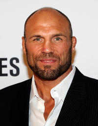 Randy Couture at the premiere of