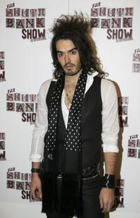 Russell Brand at the South Bank Show Awards.